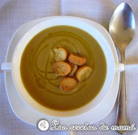 """Sopa griega de garbanzos """"de Adi"""""""