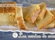 Bizcocho con almendras tostadas