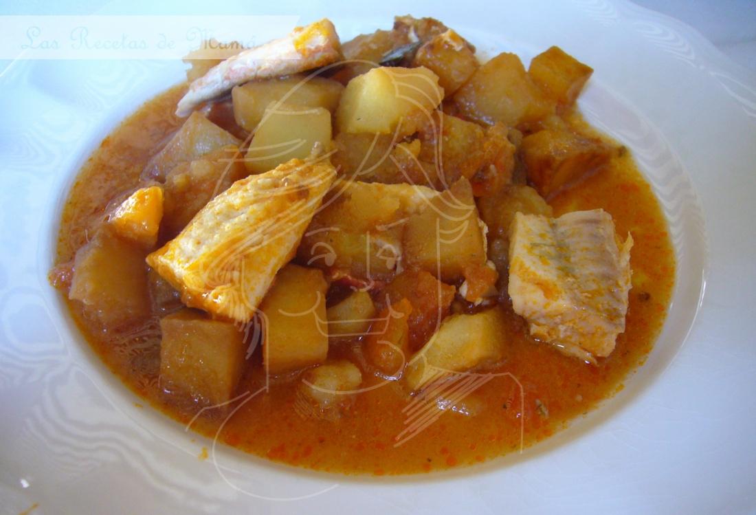 Rubio con patatas