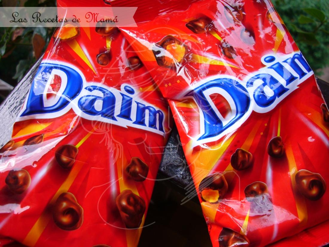 Tarta sueca de Daim