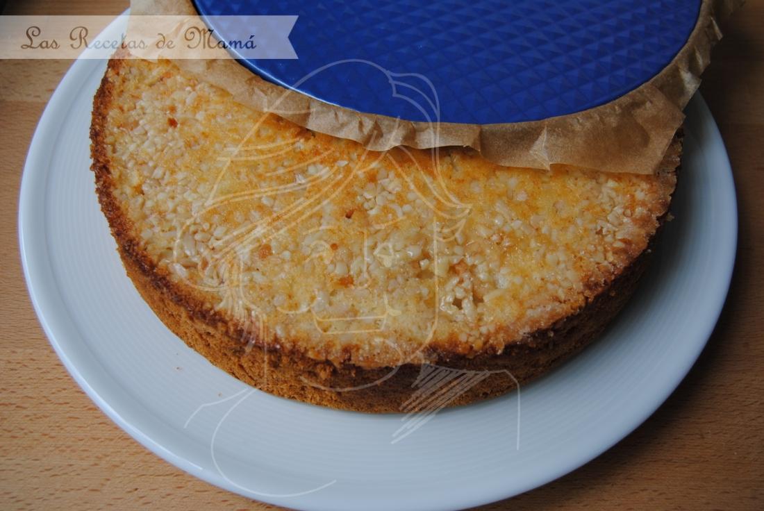 Bizcocho de queso cremoso y vainilla 7