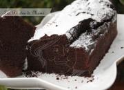 Bizcocho de chocolate y vino tinto