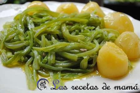Verduras las recetas de mam for Como cocinar judias