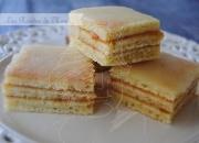 Pastelitos de naranja con glasa de Cointreau