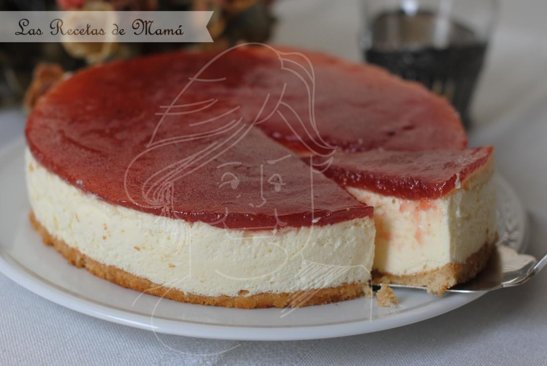 Tarta mousse de queso y yogur – video receta
