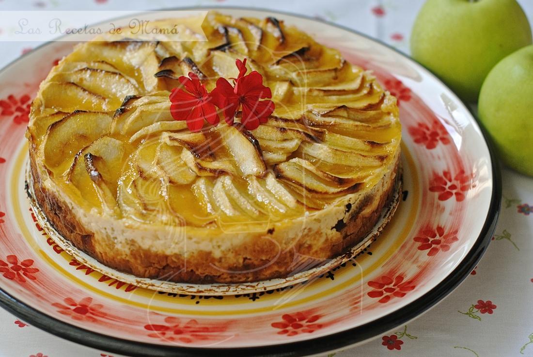 Tarta express de manzana y croissants – Video receta