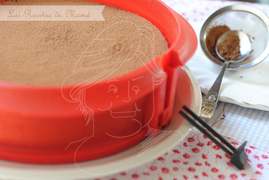Tarta trufa de chocolate 1