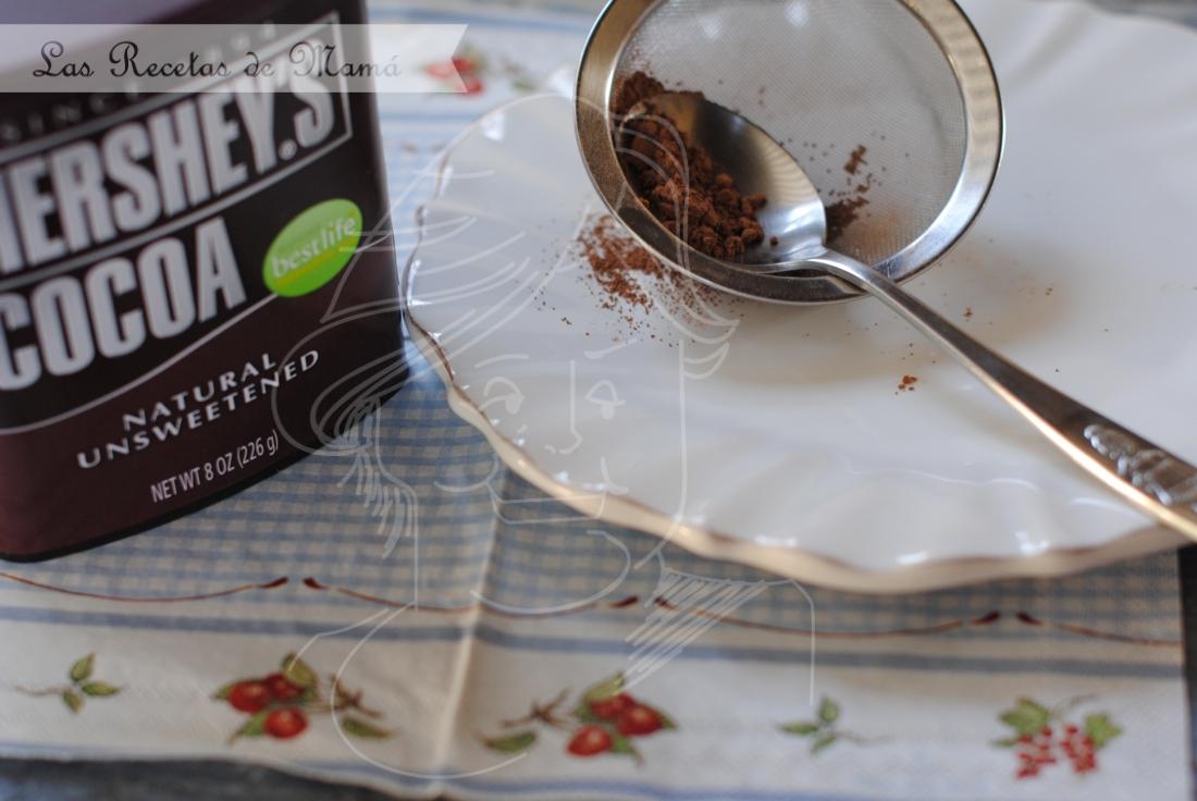 Tarta trufa de chocolate