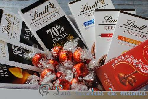 Café y bombones Lindt