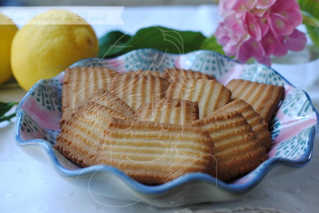 Mantecadas de limón
