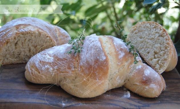 Pan rústico de tomillo y miel
