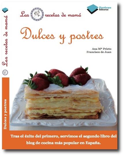 Libro nuevo: Dulces y postres