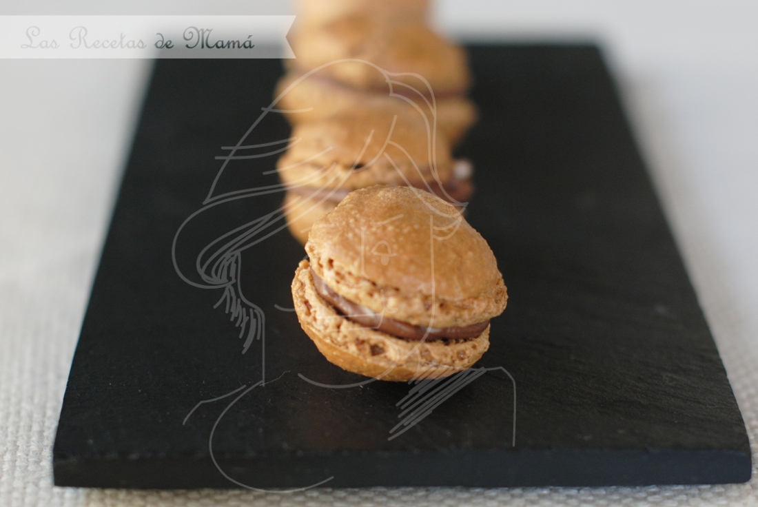 Macarons de tiramisú – #hoycomemostiramisú