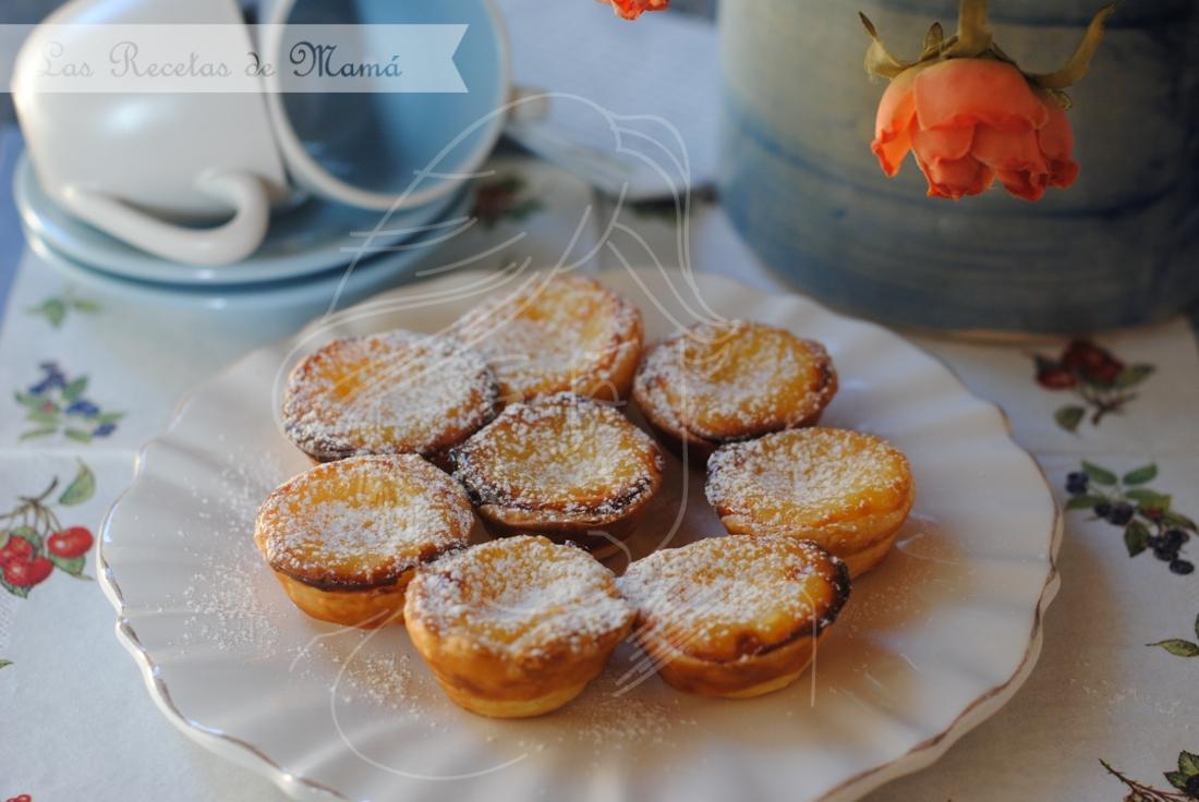 Pastéis de nata – Pastelitos de nata – Video receta