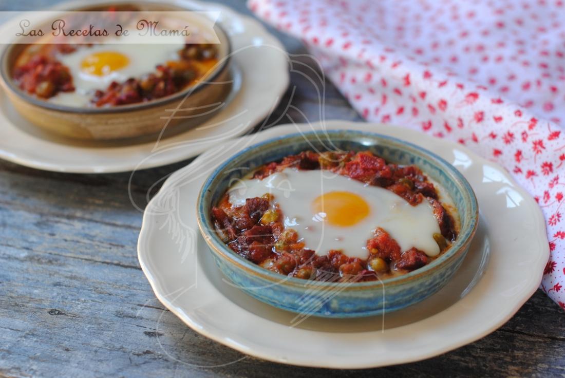 Huevos al plato – video receta
