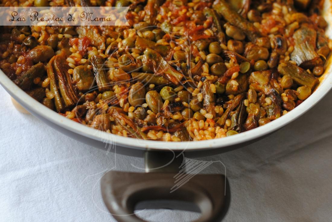Como cocinar arroz con verduras excellent pur de arroz for Cocinar fideos de arroz
