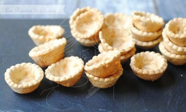 Tartaletas de masa quebrada