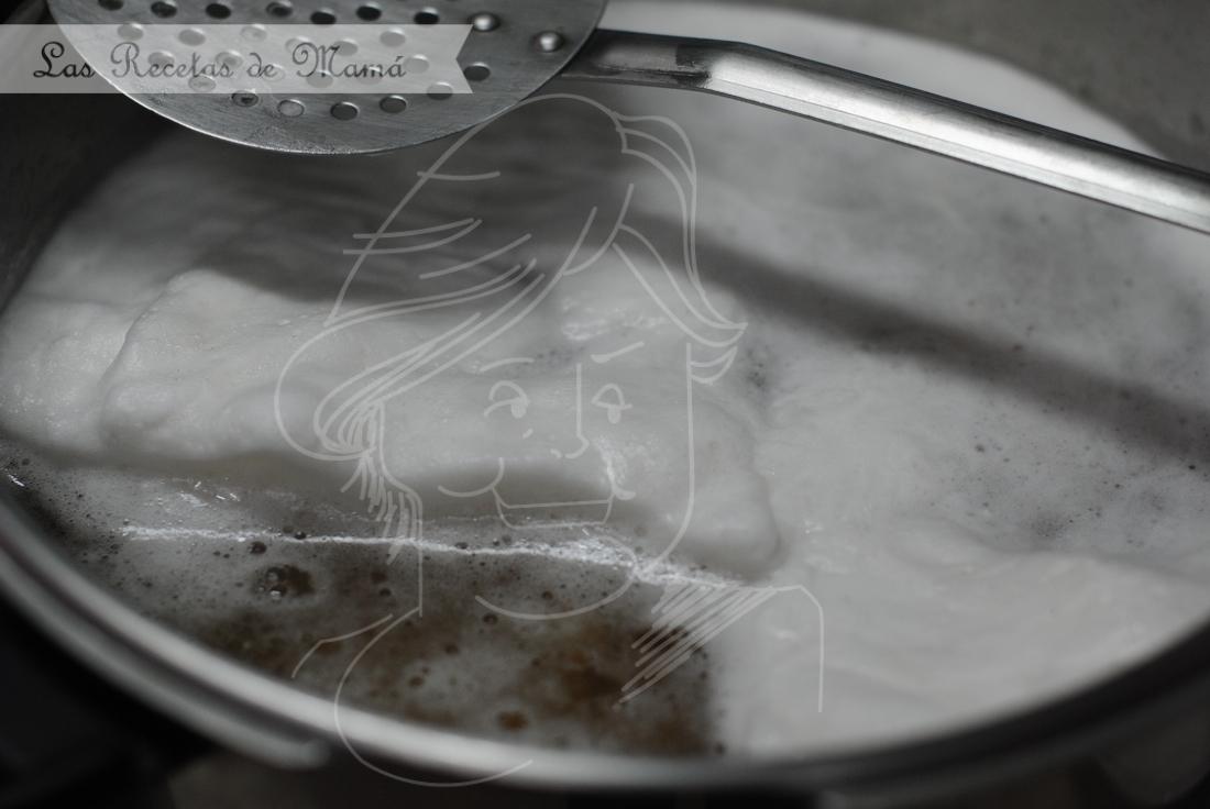 Potaje de garbanzos con paleta ibérica 1