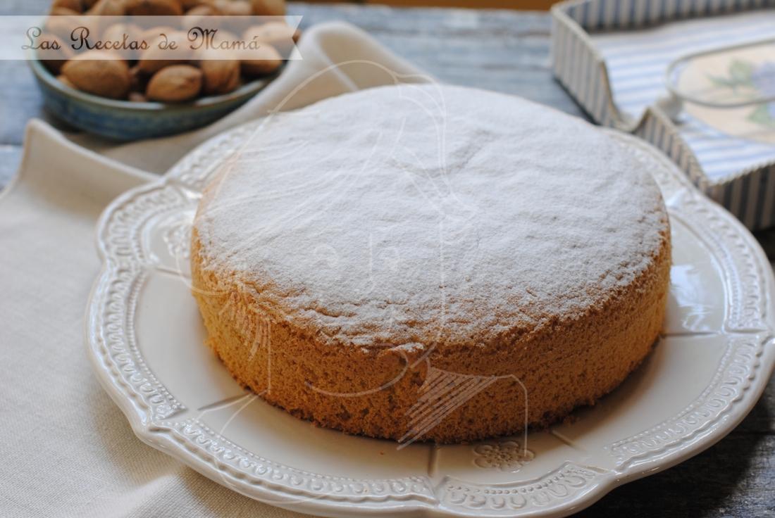 Bizcocho de almendra las recetas de mam for Bizcocho de yogur y almendra