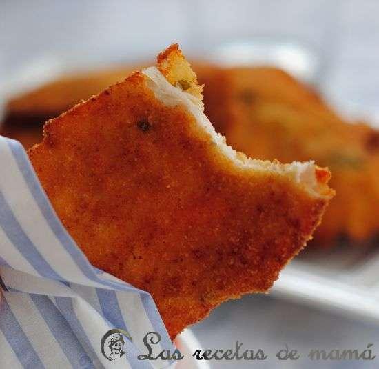 Solomillos de pollo empanados