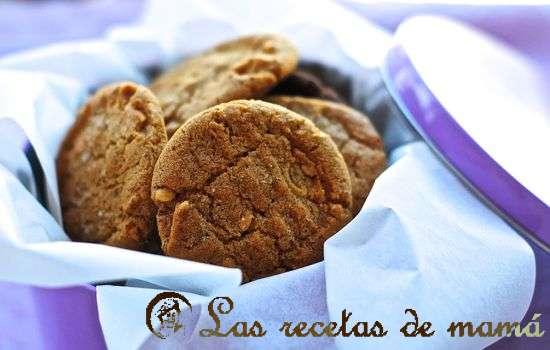 Galletas de mantequilla de cacahuete
