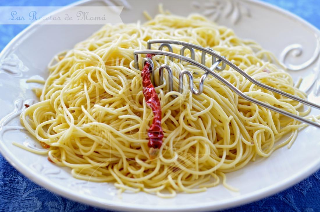Espaguetis a la diavola