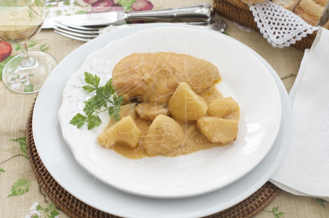Escaldums mallorquins de pollastre – Pollo mallorquin
