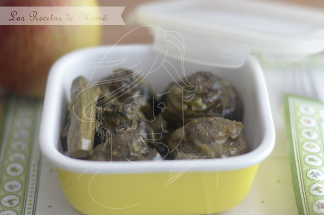 Alcachofas. Video receta