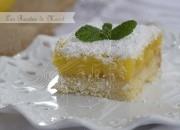 Lemon bars – cortadillos de limón. Video receta.