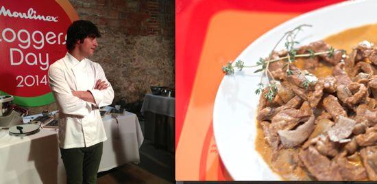 Estofado de ternera con Jordi Cruz y el robot Cuisine Companion de Moulinex
