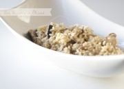 Risotto de setas y Gorgonzola. Video receta.