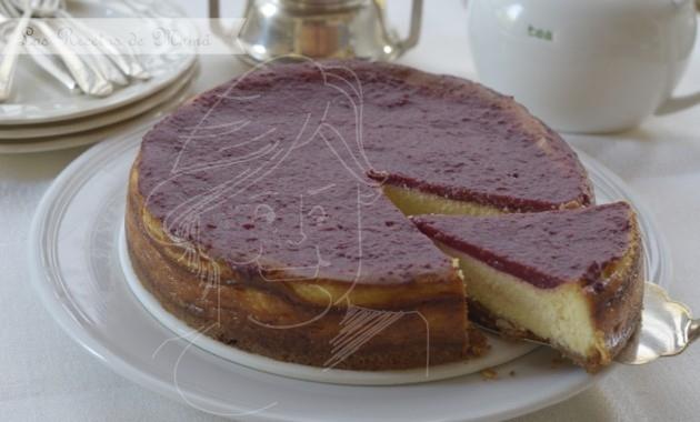 Tarta de queso y chocolate blanco. video receta.