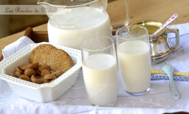 Leche de almendras. Video receta.