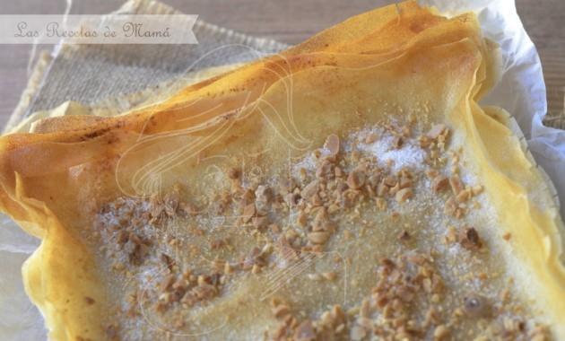 Cómo hacer empanada dulce crujiente de pasta brick