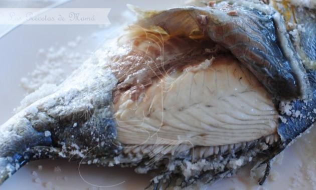 Cómo preparar dorada a la sal
