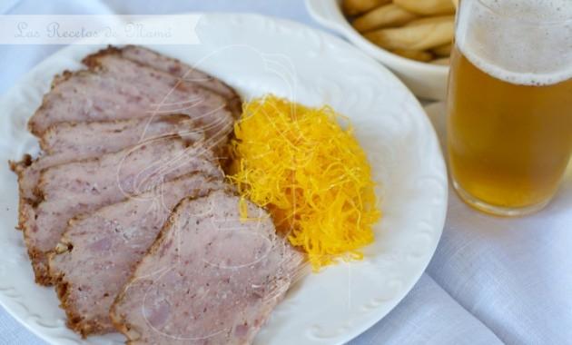 Pastel de carne express en microondas. Video receta