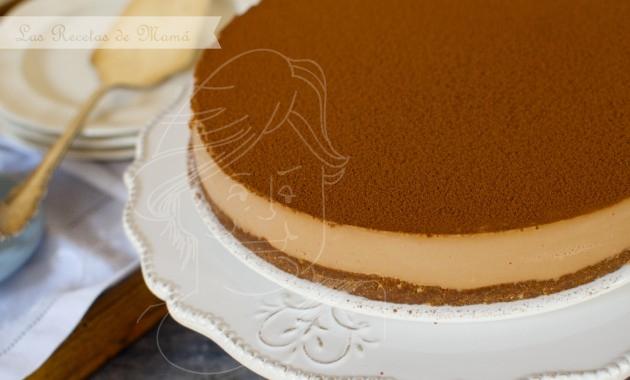 Cheesecake de toffee y chocolate. Video receta