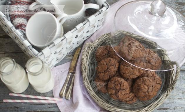 ¡¡ Es imposible comer solo una !! Brownie en forma de galletitas, una delicia