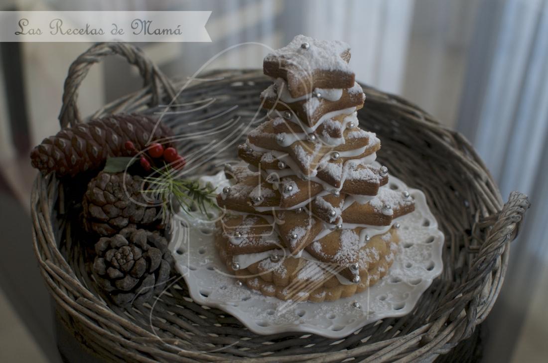 Árbol de Navidad de Galletas. Video receta