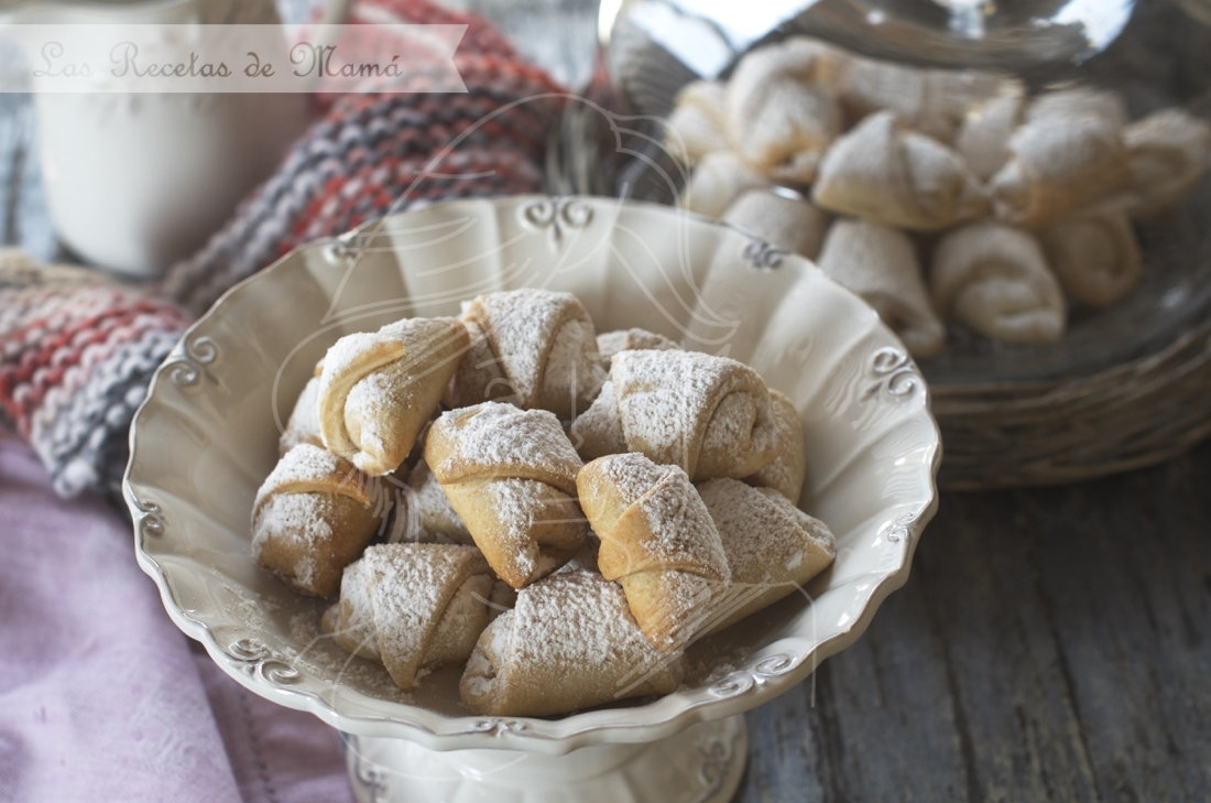 Pastas de mantequilla rellenas. Video receta