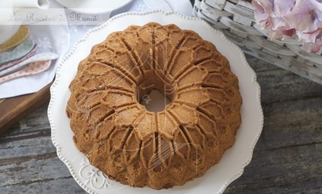 Bundt cake especiado al brandy. Video receta