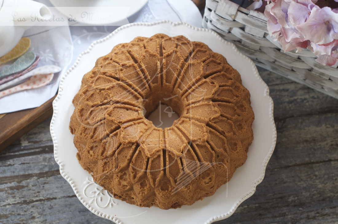 Bundt cake especiado al brandy. Video receta