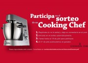 Sorteo de una Cooking Chef de Kenwood
