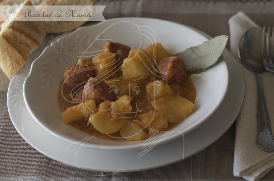 Patatas a la Riojana. Video receta