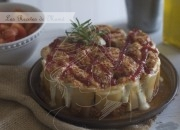 Tarta salada de pasta. Video receta
