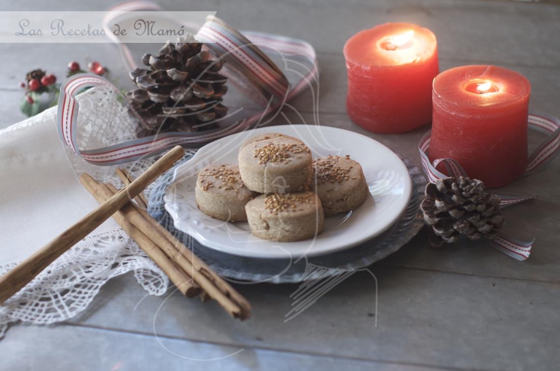 Mantecados de canela y ajonjolí. Video receta