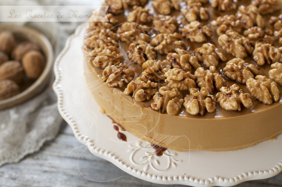 Tarta de nueces y caramelo. Video receta