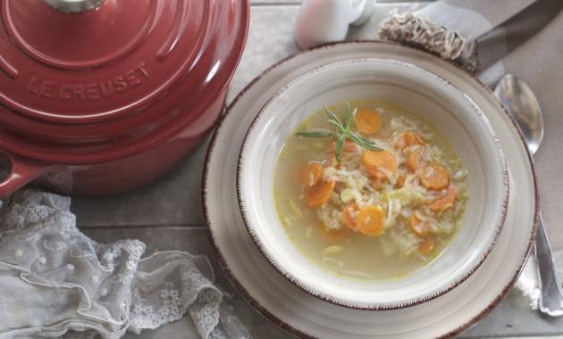 Sopa de puerros. Video receta