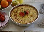Tarta fácil de manzana. Video receta