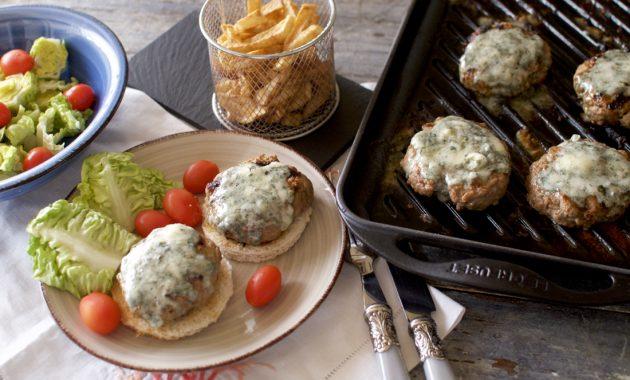 Hamburguesas al Roquefort. Video receta